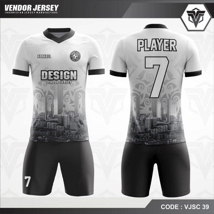 Desain Kaos Futsal Depan Belakang Terbaru