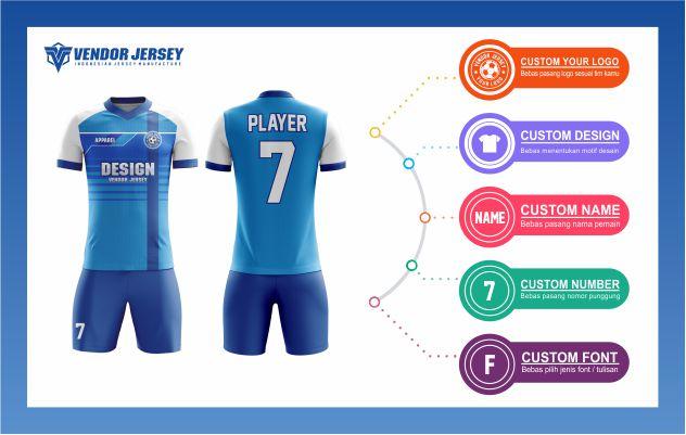 Desain Kostum Futsal Terkeren
