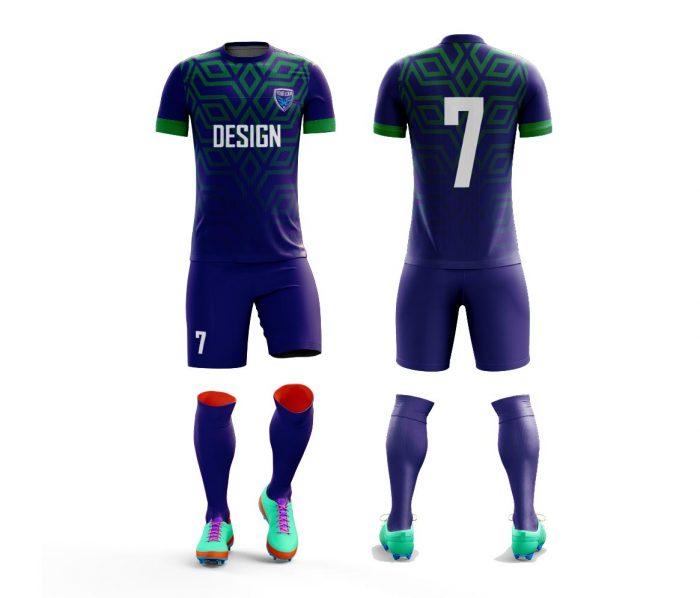 mock up sebagai tampilan preview jersey futsal