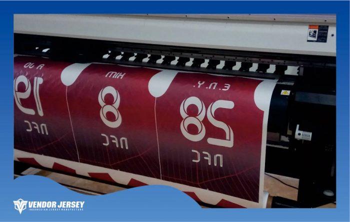 contoh printer dengan desain namset nama nomor punggung
