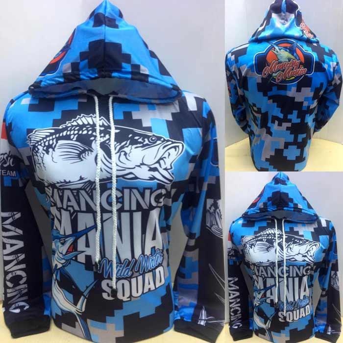 Desain dan Motif Baju Mancing hoodie